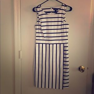 Tommy Hilfiger pinstripe dress